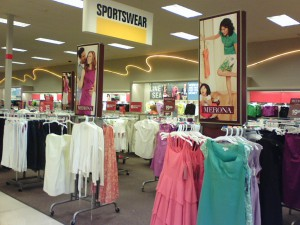 Sportswear and Dresses